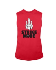 Strike Mode T-Shirt by Bowling Addicts Sleeveless Tee thumbnail