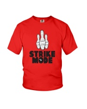 Strike Mode T-Shirt by Bowling Addicts Youth T-Shirt thumbnail