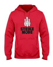 Strike Mode T-Shirt by Bowling Addicts Hooded Sweatshirt thumbnail