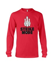 Strike Mode T-Shirt by Bowling Addicts Long Sleeve Tee thumbnail