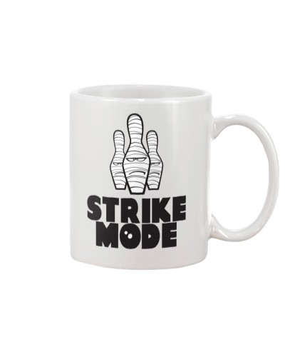 Strike Mode T-Shirt by Bowling Addicts