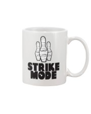 Strike Mode T-Shirt by Bowling Addicts Mug tile