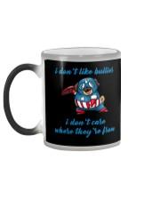 Captain Pug Color Changing Mug color-changing-left
