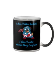 Captain Pug Color Changing Mug color-changing-right
