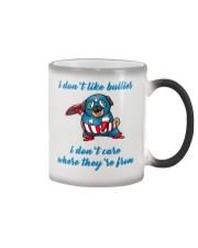 Captain Pug Color Changing Mug thumbnail
