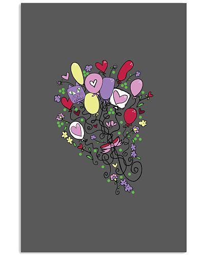 Balloon Bouquet With Hearts Flowers For Women Girl