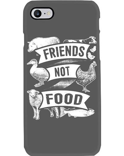 Friends Not Food Funny Vegetarian Vegan Apparel