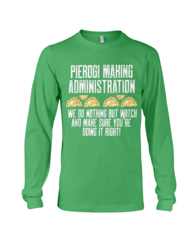Pierogi Making Administration Doing It Right