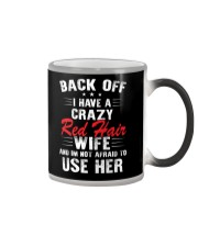 Red Hair Color Changing Mug tile