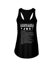 BARTENDER Ladies Flowy Tank tile