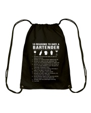 BARTENDER Drawstring Bag tile