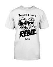 Teach Like a Rebel -- Curio Learning Premium Fit Mens Tee thumbnail