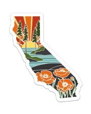 California Love Sticker - Single (Vertical) front