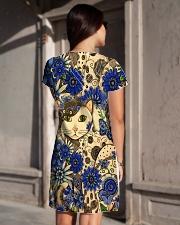 Cat Dress print All-over Dress aos-dress-back-lifestyle-1