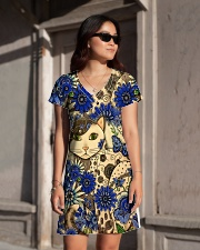 Cat Dress print All-over Dress aos-dress-front-lifestyle-1