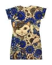 Cat Dress print All-over Dress back