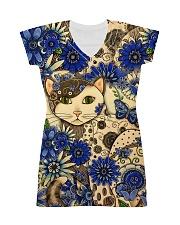Cat Dress print All-over Dress front