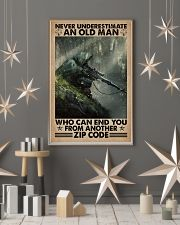 Never underestimate who can end you - zip code 11x17 Poster lifestyle-holiday-poster-1