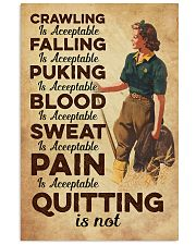 Quitting is not - Farmer 11x17 Poster front