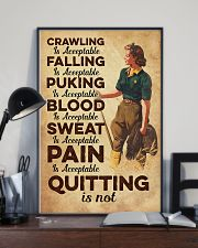 Quitting is not - Farmer 11x17 Poster lifestyle-poster-2