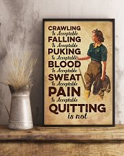 Quitting is not - Farmer 11x17 Poster lifestyle-poster-3