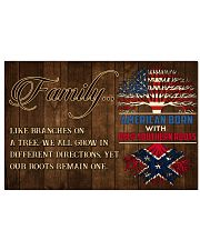 Family like braches on a tree  17x11 Poster front