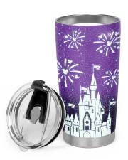 Love Castle 20oz Cone Glitter Tumbler aos-glitter-tumbler-cone-shape-20oz-lifestyle-front-01