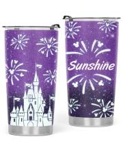 Love Castle 20oz Cone Glitter Tumbler front