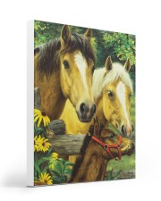 Love Horse Gallery Wrapped Canvas Prints tile