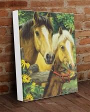 Love Horse 11x14 Gallery Wrapped Canvas Prints aos-canvas-pgw-11x14-lifestyle-front-09