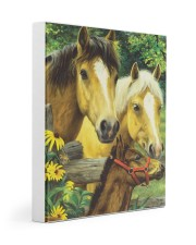Love Horse 11x14 Gallery Wrapped Canvas Prints front