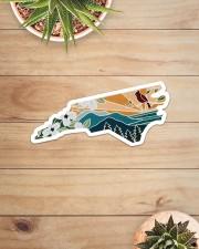 North Carolina Sticker - Single (Horizontal) aos-sticker-single-horizontal-lifestyle-front-07