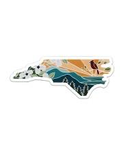 North Carolina Sticker - Single (Horizontal) front