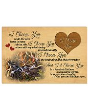 You and me we got this - Deer 17x11 Poster front