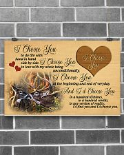 You and me we got this - Deer 17x11 Poster poster-landscape-17x11-lifestyle-18