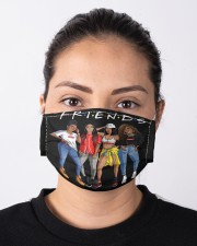 Black Queens Cloth face mask aos-face-mask-lifestyle-01