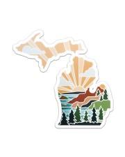 Michigan Love Sticker - Single (Vertical) front