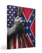 Flag love Gallery Wrapped Canvas Prints tile
