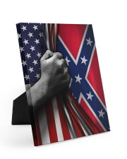 Flag love 8x10 Easel-Back Gallery Wrapped Canvas thumbnail