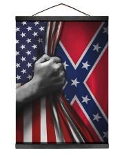 Flag love 12x16 Black Hanging Canvas thumbnail
