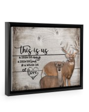 This is us - Deee555 14x11 Black Floating Framed Canvas Prints thumbnail