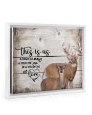 This is us - Deee555 14x11 White Floating Framed Canvas Prints thumbnail