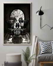 Skull - Black cat 16x24 Poster lifestyle-poster-1