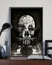 Skull - Black cat 16x24 Poster lifestyle-poster-2
