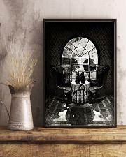 Skull - Black cat 16x24 Poster lifestyle-poster-3
