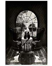 Skull - Black cat Vertical Poster tile