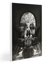 Skull - Black cat 20x30 Gallery Wrapped Canvas Prints thumbnail