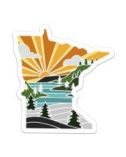 Minnesota Love Sticker - Single (Vertical) front