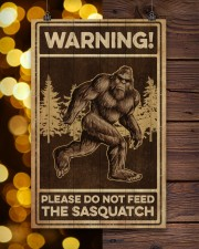 Please do not feeed the sasquatch 11x17 Poster aos-poster-portrait-11x17-lifestyle-24