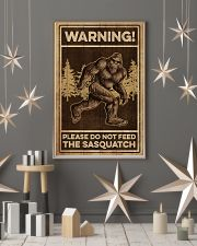 Please do not feeed the sasquatch 11x17 Poster lifestyle-holiday-poster-1